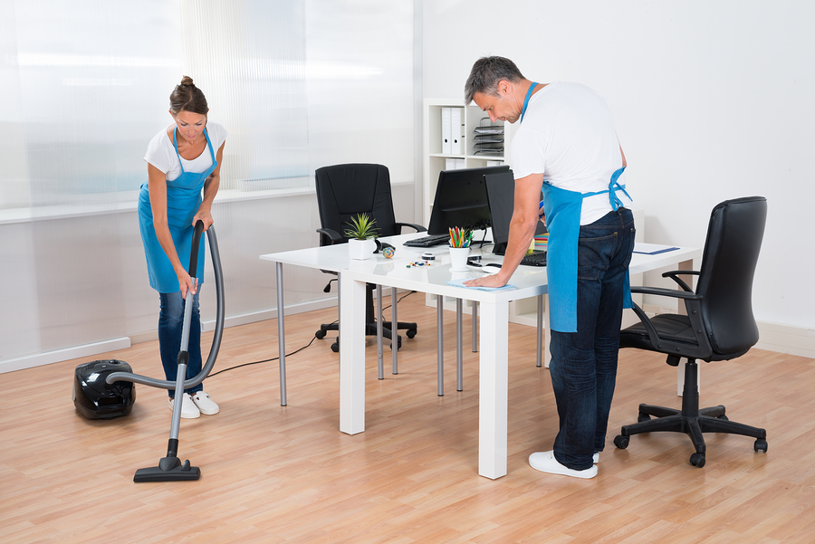 office cleaners in Sydney while working